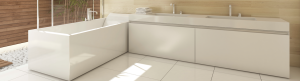 Perth Contemporary Bathroom Renovation Ideas Bath Light