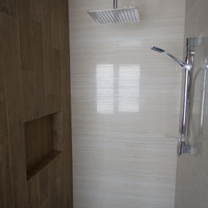 Bathroom Renovations Perth - Renovation Company - VIP Bathrooms - Modern Bathroom Recess Tiling