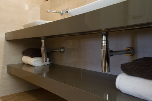 Small Bathroom Renovations Perth - Renovation Company - VIP Bathrooms - Modern Sink Fittings