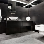 Small Bathroom Renovation Ideas Inspirations Perth VIP Bathrooms Contemporary Black Tiling