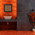 Small Bathroom Renovation Ideas Inspirations Perth VIP Bathrooms Contemporary Dark Walls